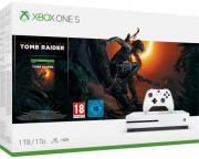 XBOX ONE S 1TB +SHADOW OF TOMB RAIDER+1HÓ LIVE,1 HÓ GAME PASS